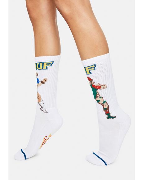 Chun-Li & Cammy Crew Socks