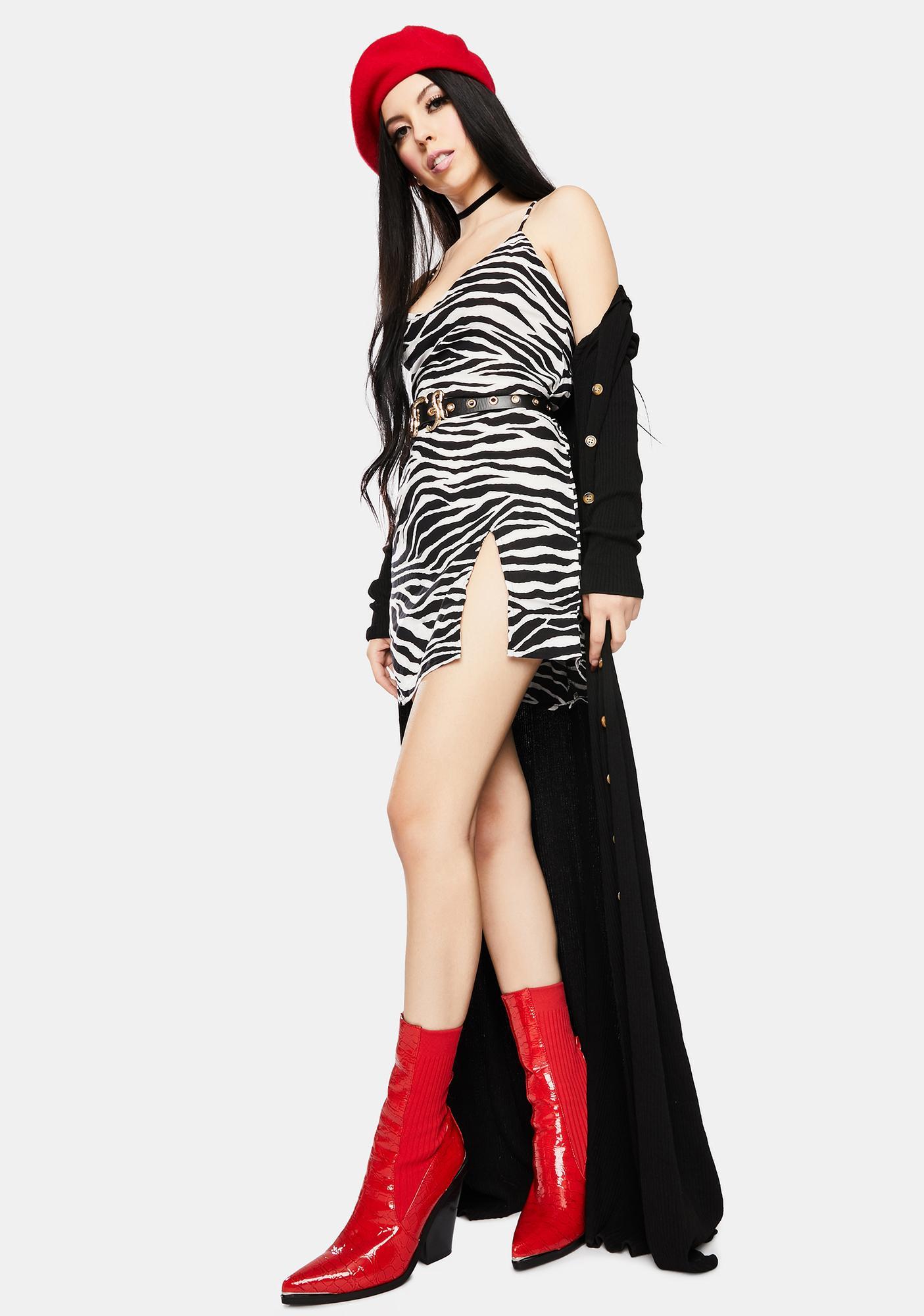 Motel Zebra Katya Mini Dress