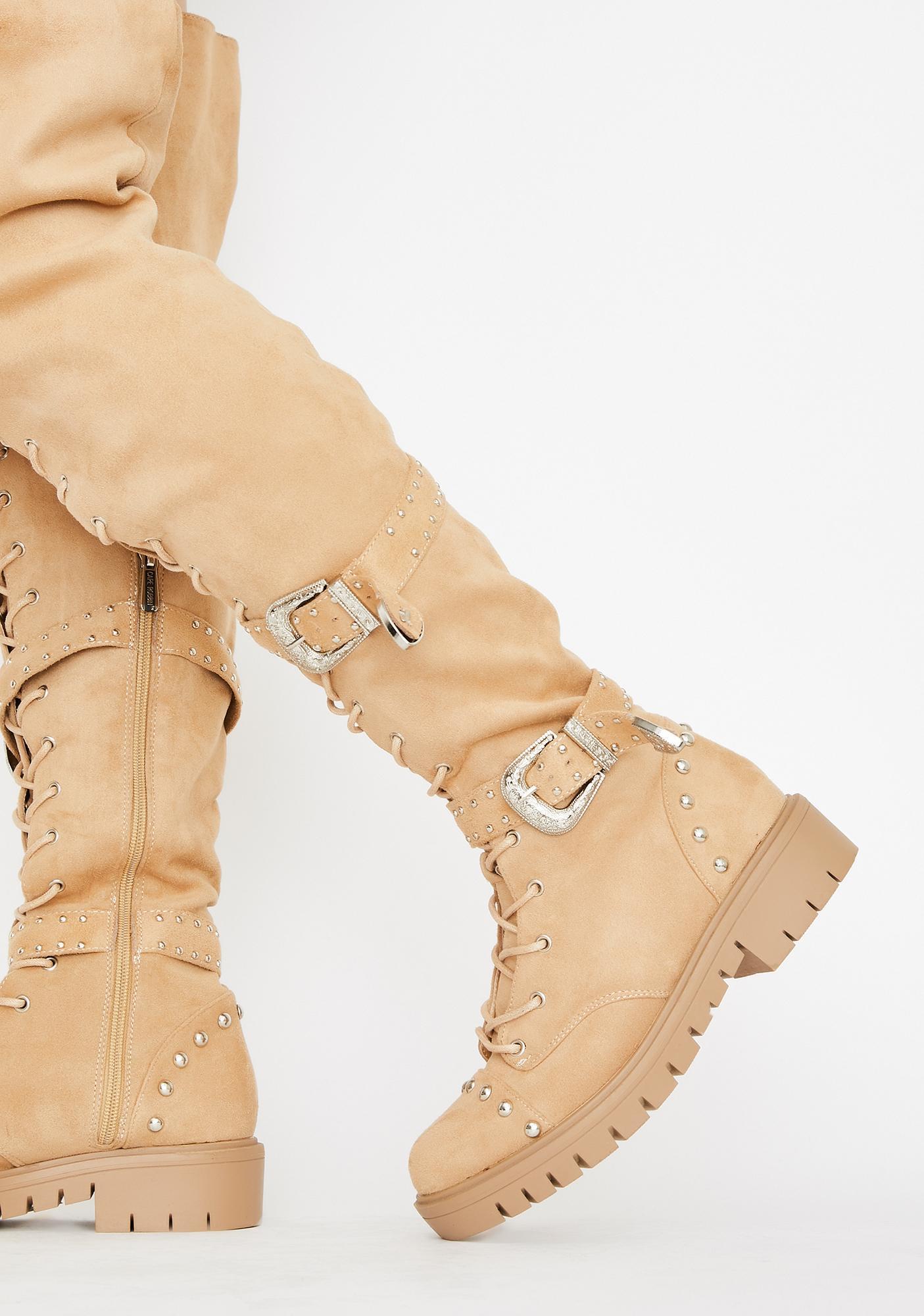 Glamazon Gurl Knee High Boots