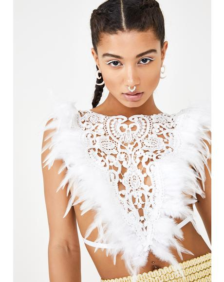 Ivory Gypsy Lace Top