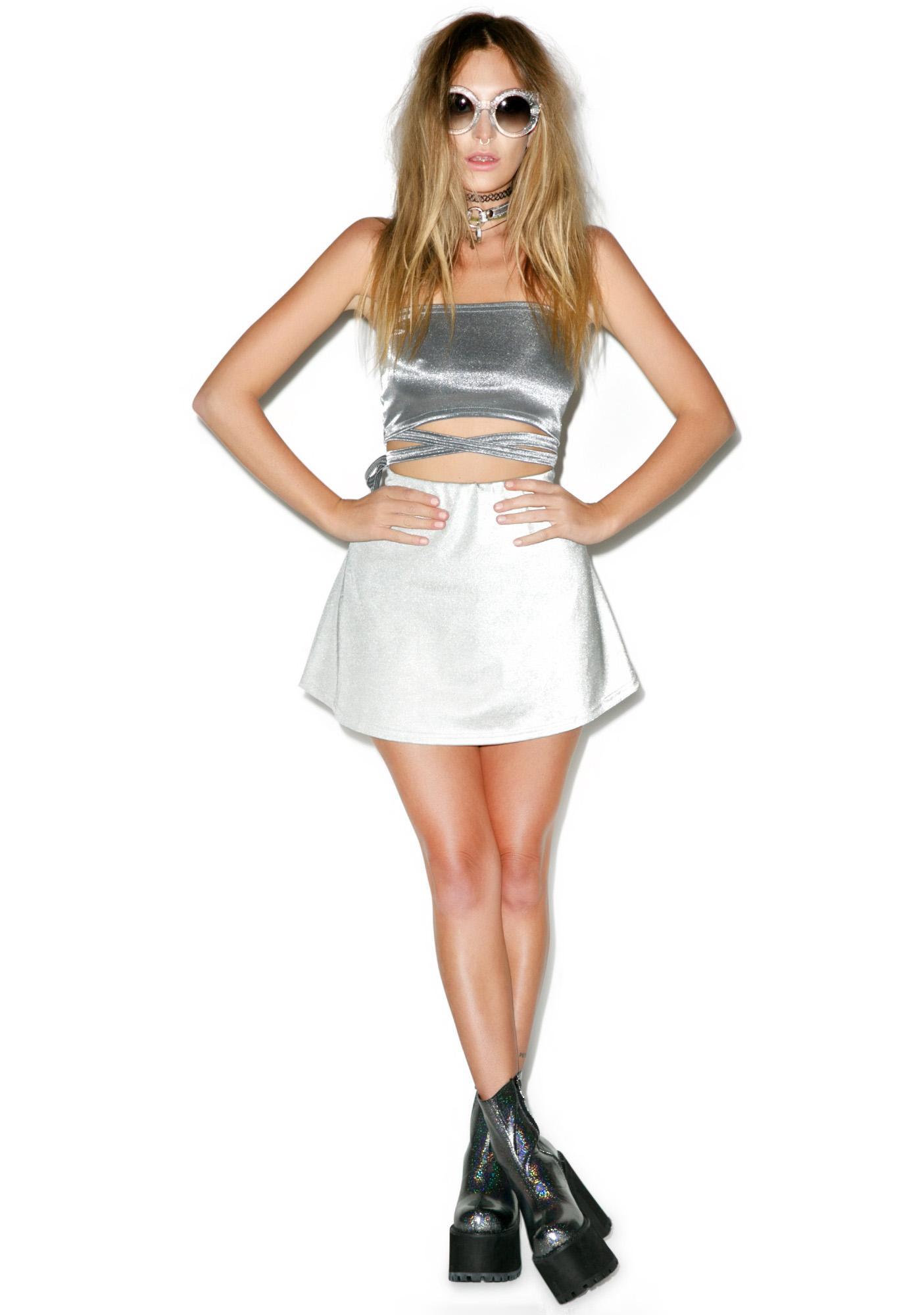 American Deadstock Techno Sport Skirt