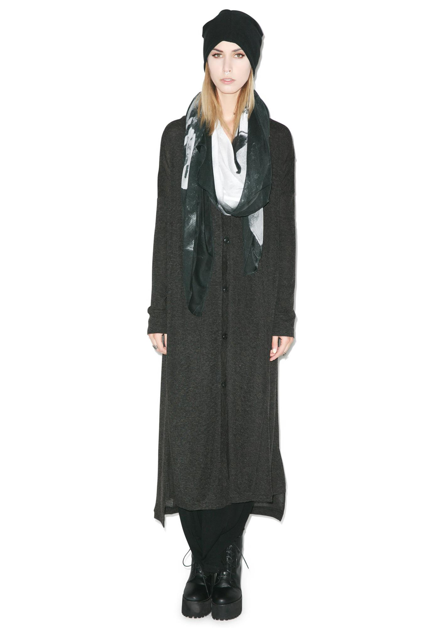Religion Path Maxi Cardigan