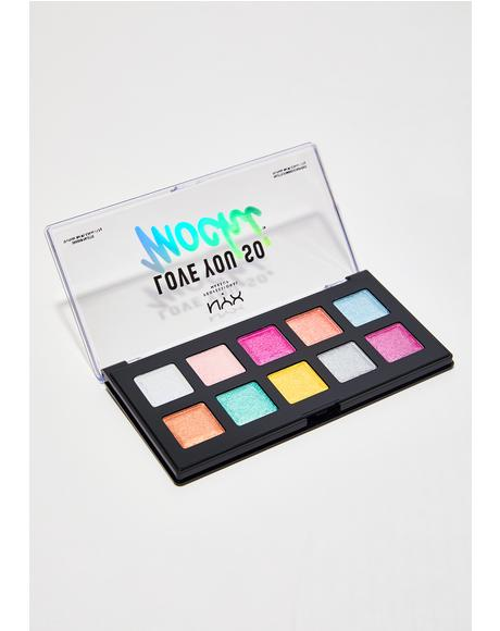 Electric Pastels Love You So Mochi Eyeshadow Palette