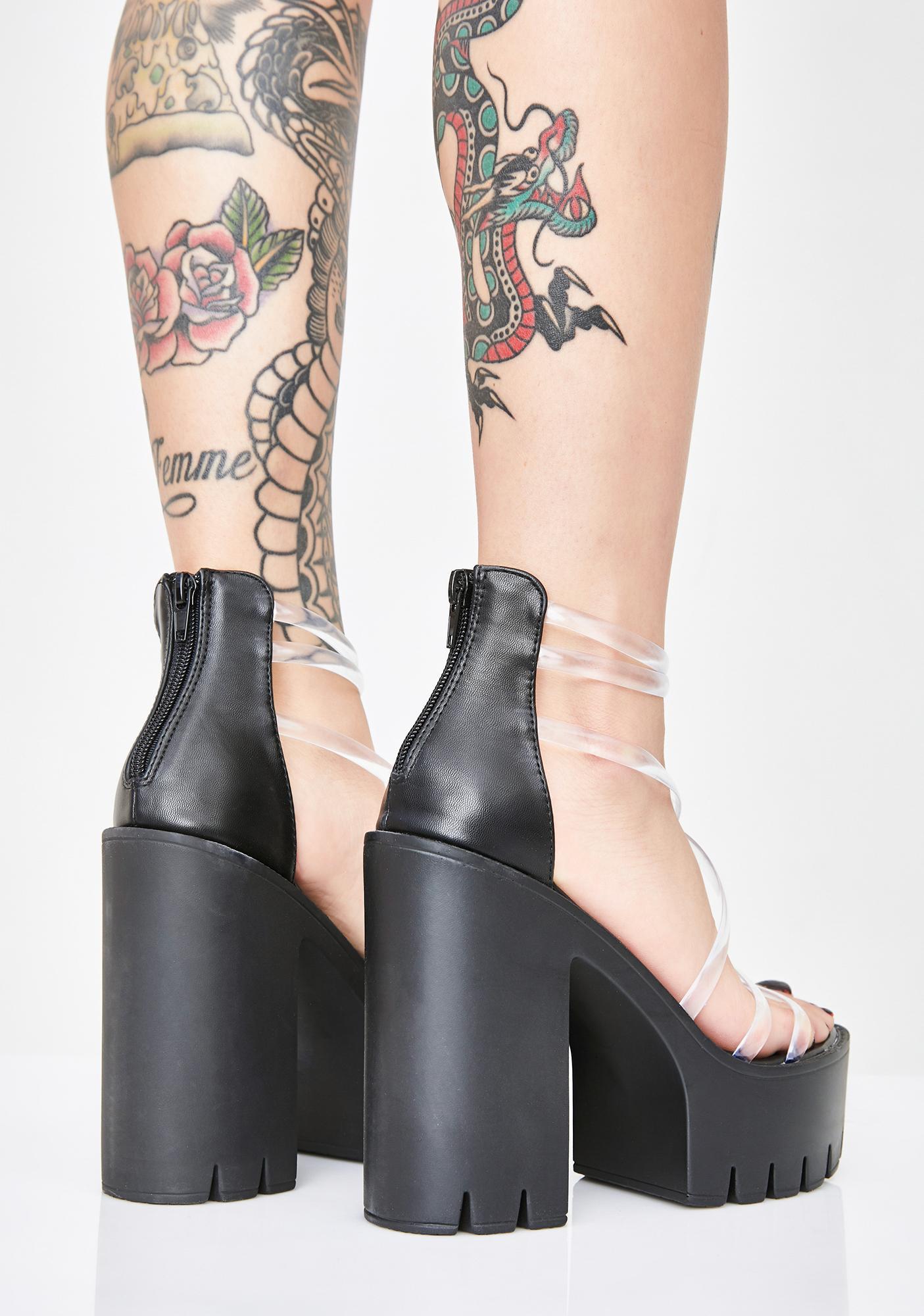 Sassy Gamez Platform Heels