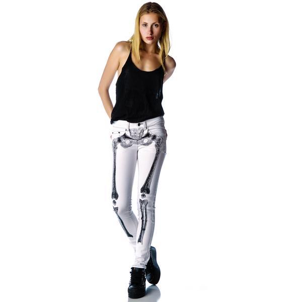 Kreepsville 666 Skelebone Jeans