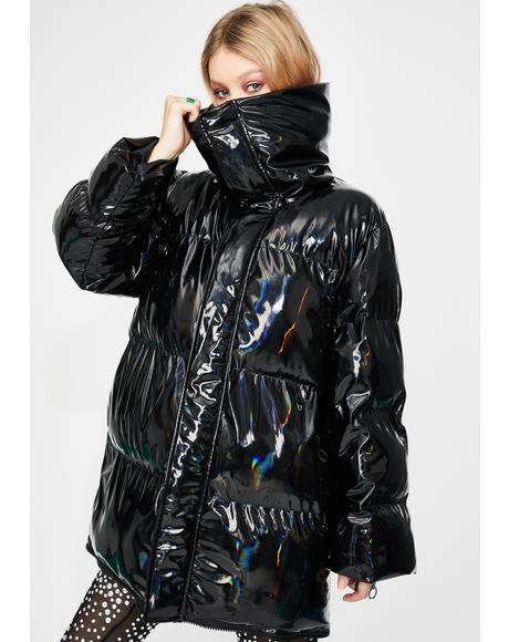 Darkwave Deep Space Puffer Jacket