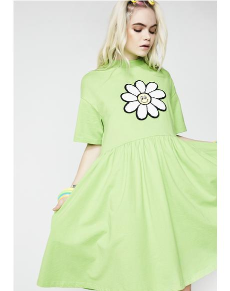 Giant Daisy Dress