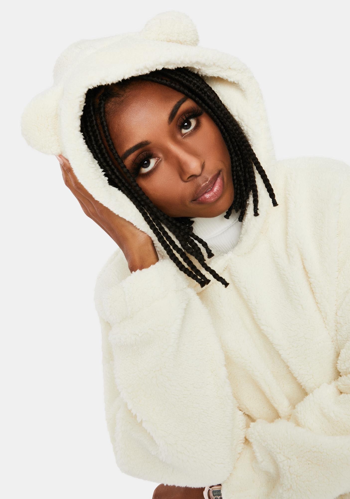 Quartz Sumthin' Sweet Fleece Pullover