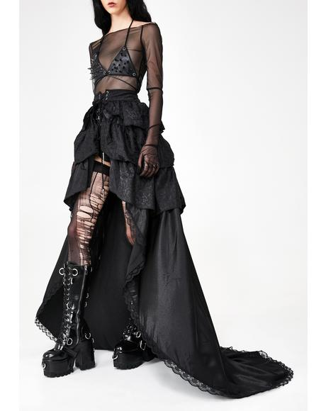 Gothic Palace Maxi Skirt