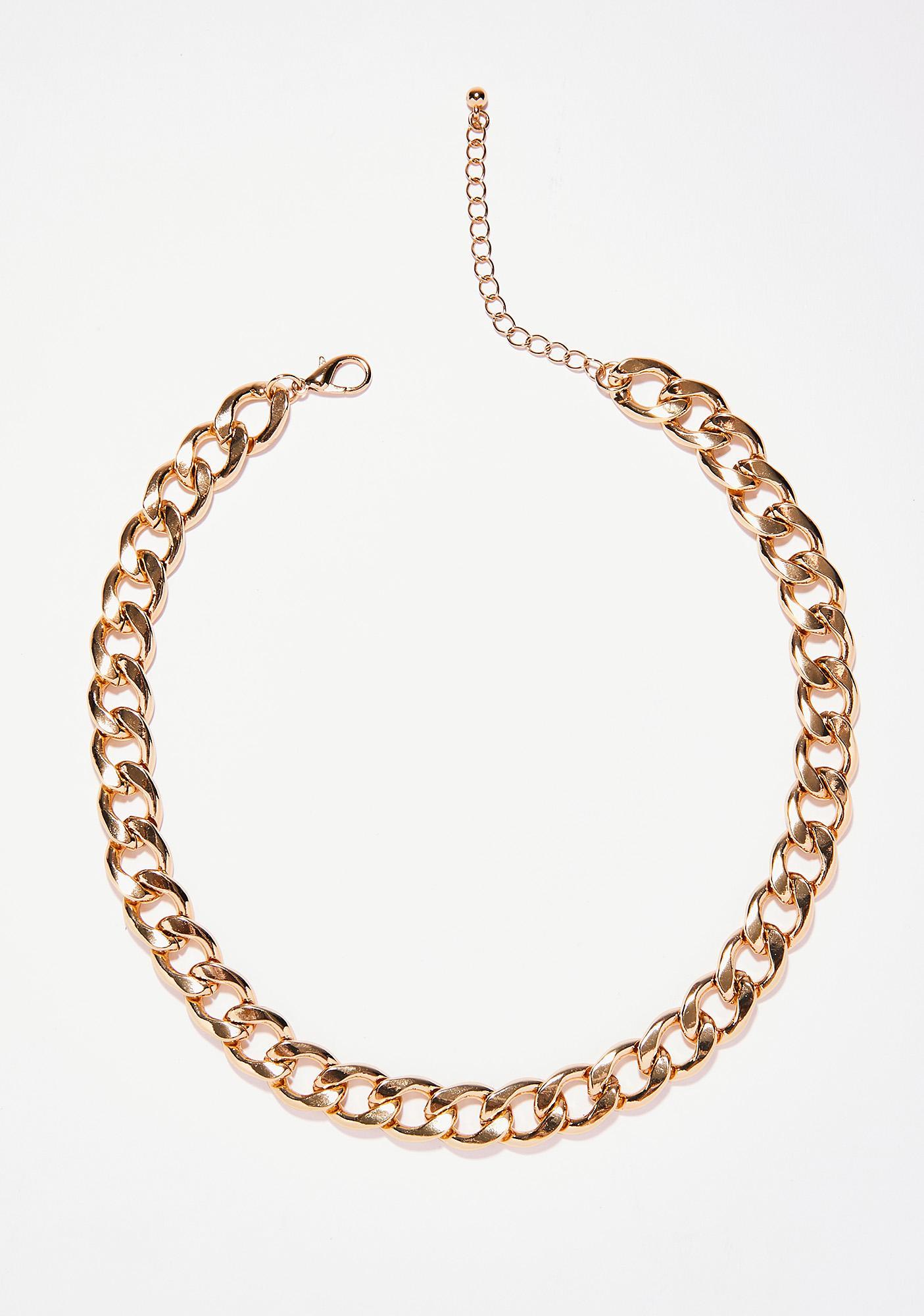 Gold Chroma Jewelry Set