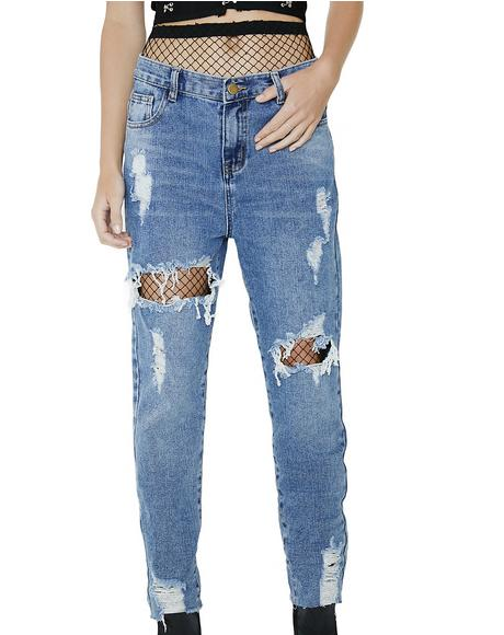 Runaway Renegade Distressed Jeans