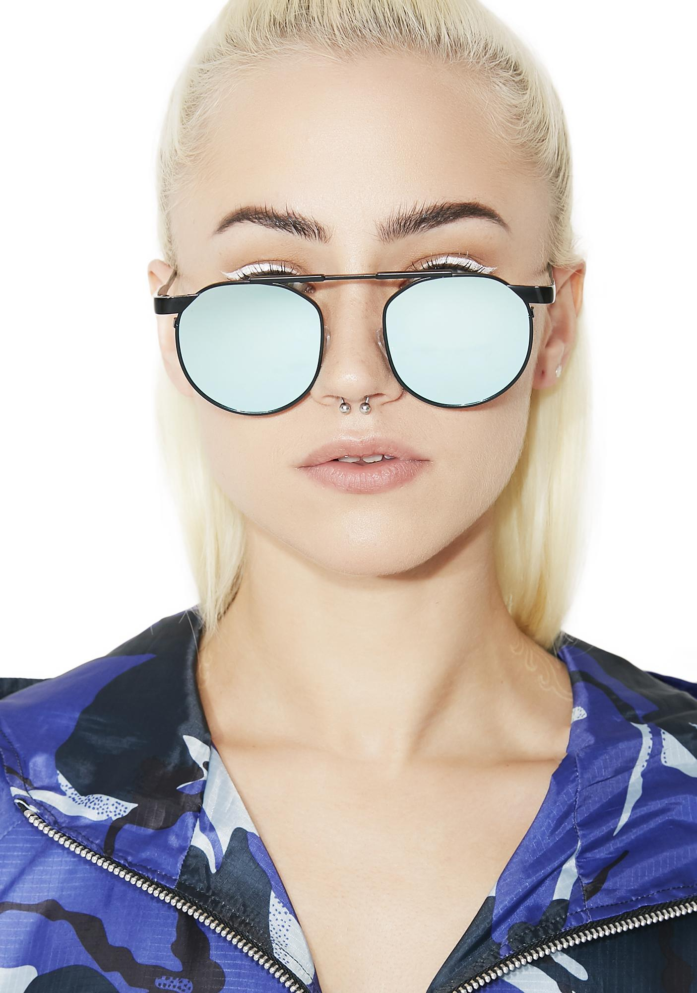 Techie Mirrored Sunglasses
