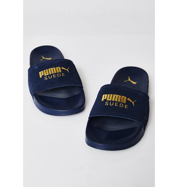 PUMA Leadcat Suede Slides
