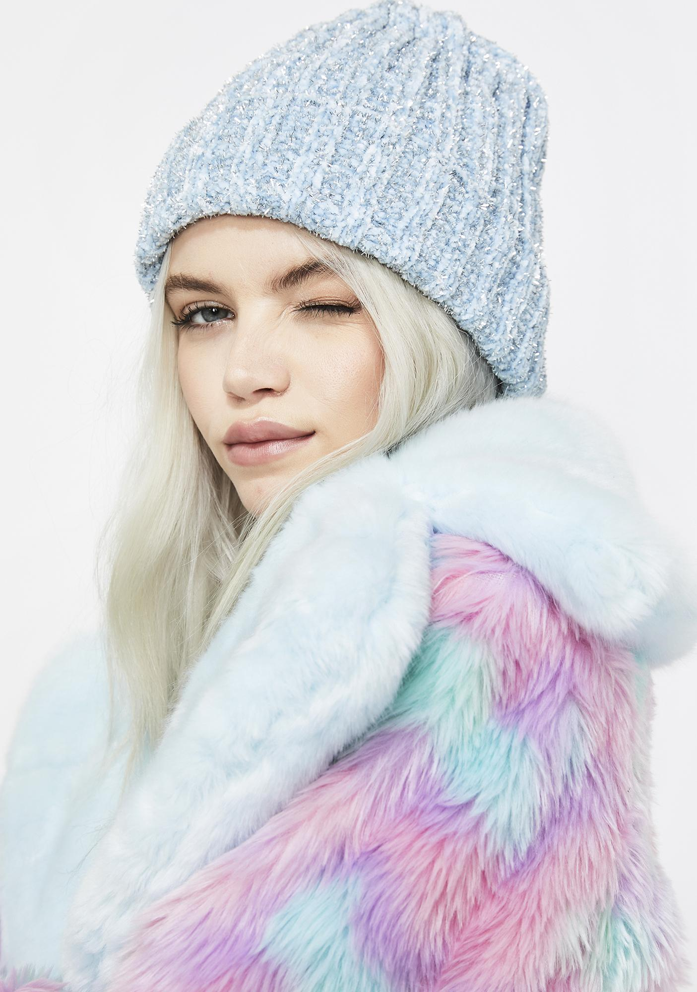 Snow Kitty Beanie