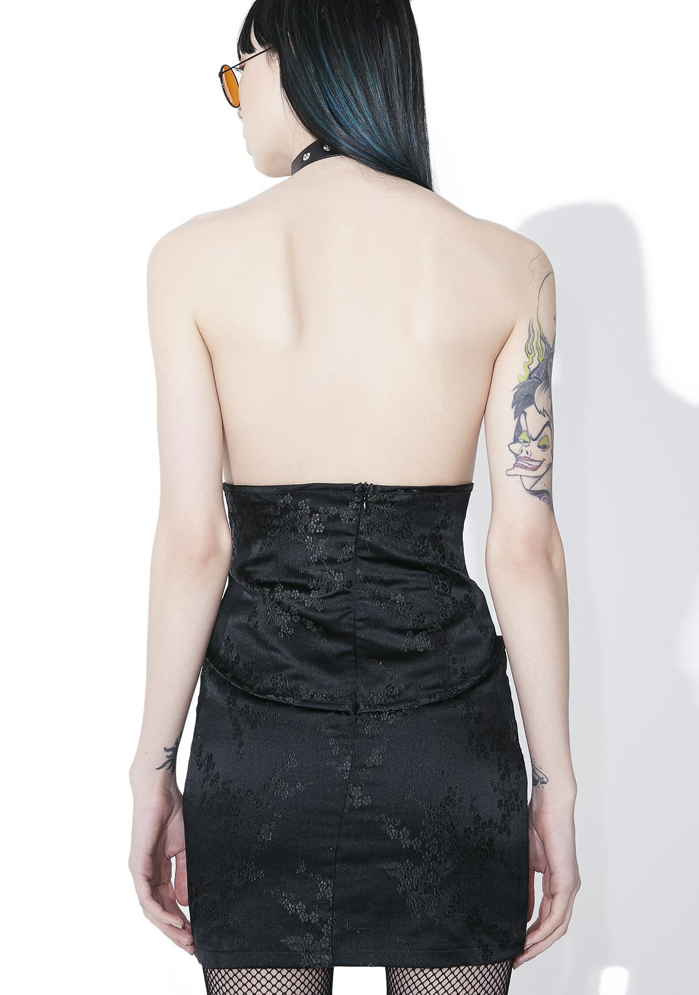 As I Am Fiercely Femme Corset Skirt