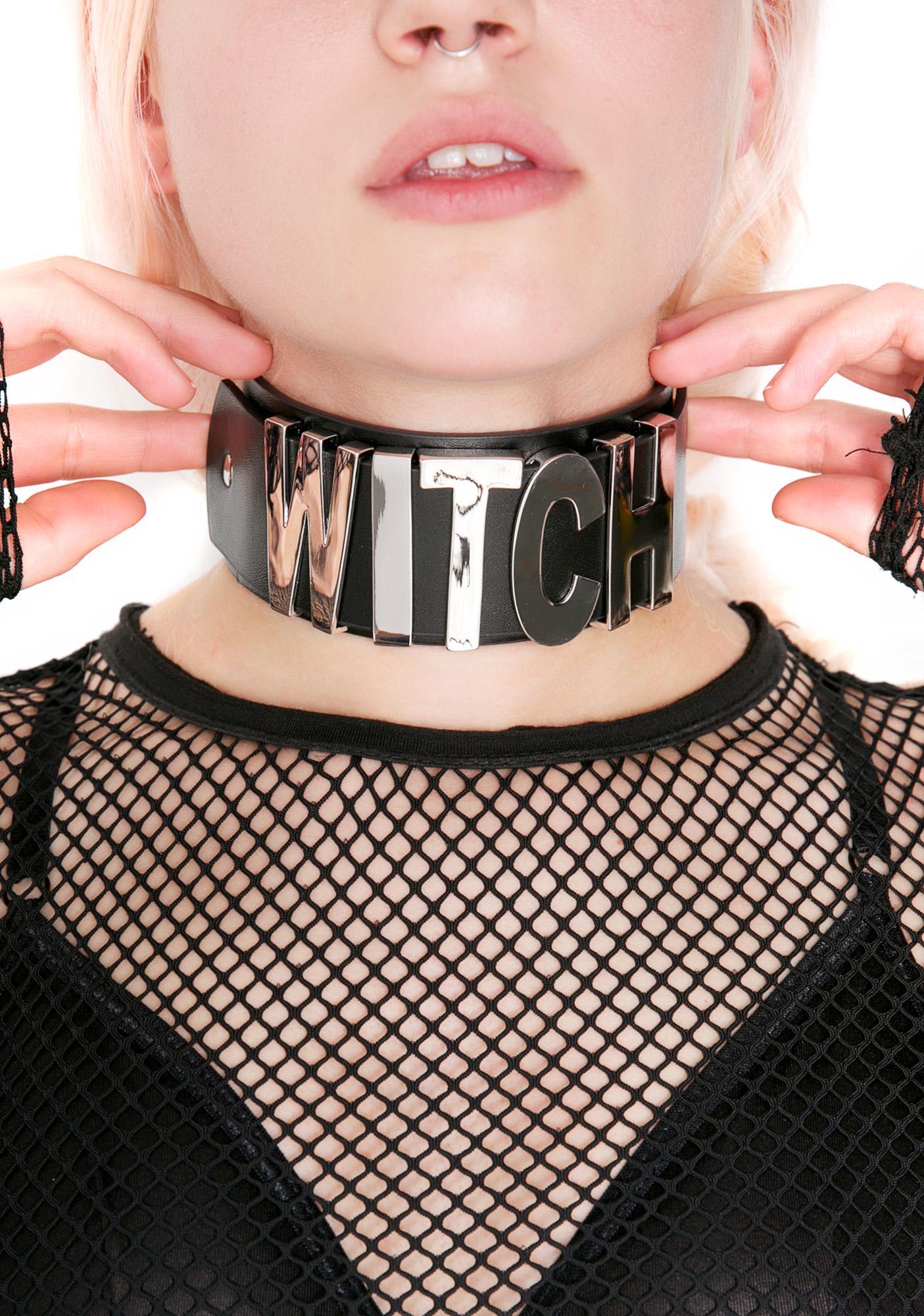 Killstar Witch Choker