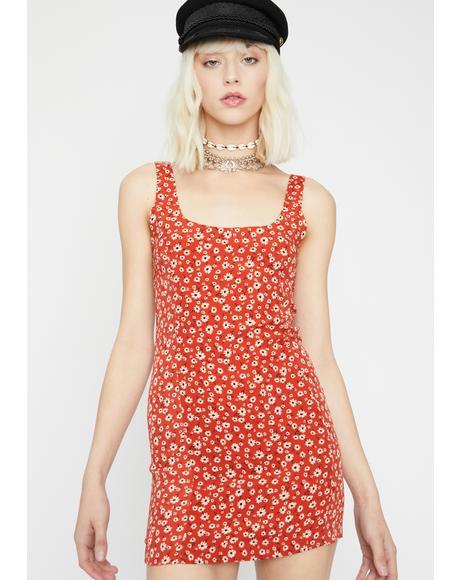 Posie Paradise Floral Dress