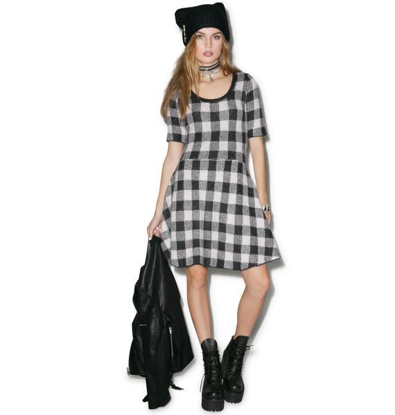 For Love & Lemons Hit The Slopes Mini Dress