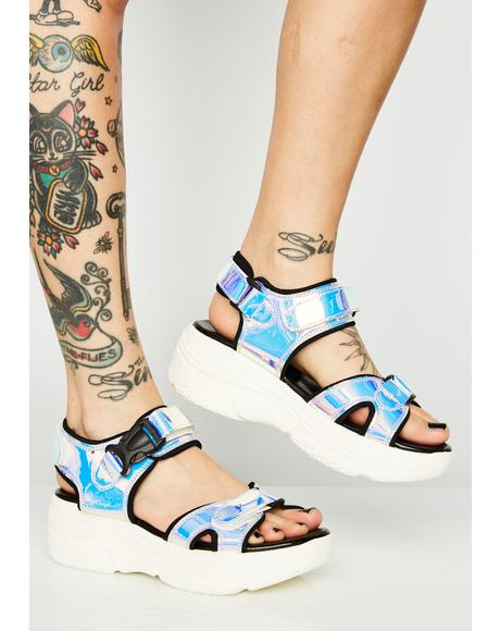 Cosmic Young Sporty Platform Sandals