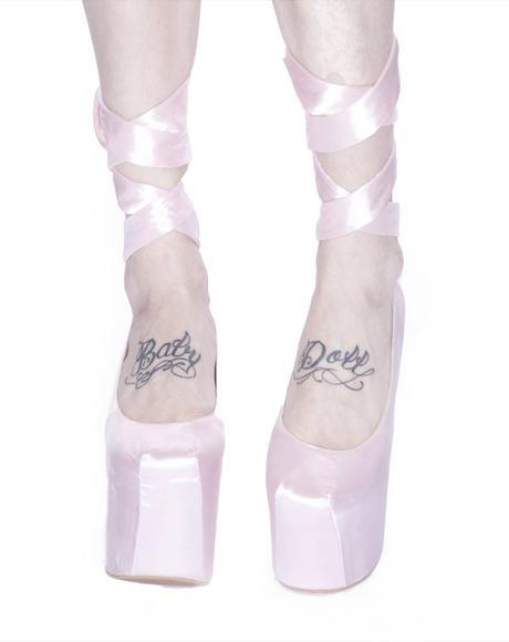 Wildfox x Jeffrey Campbell Ballet Platforms