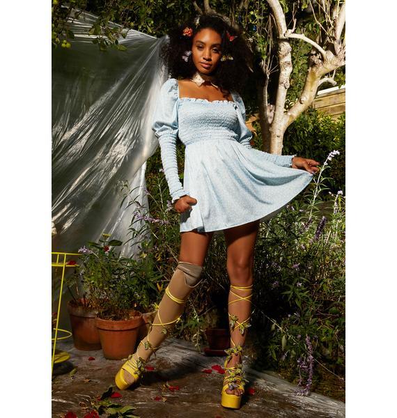 Sugar Thrillz Wishing Well Smocked Dress