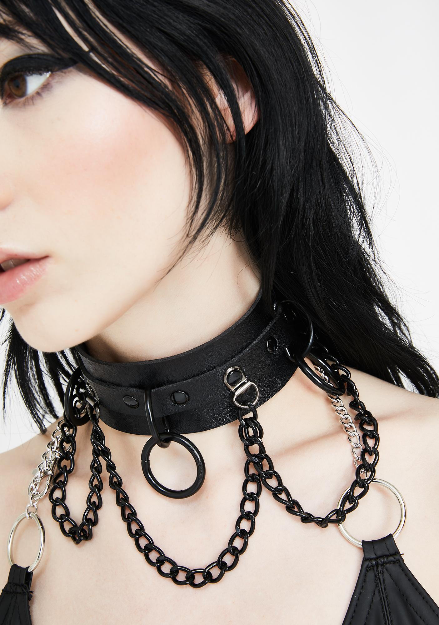 Haunting Call Chain Choker