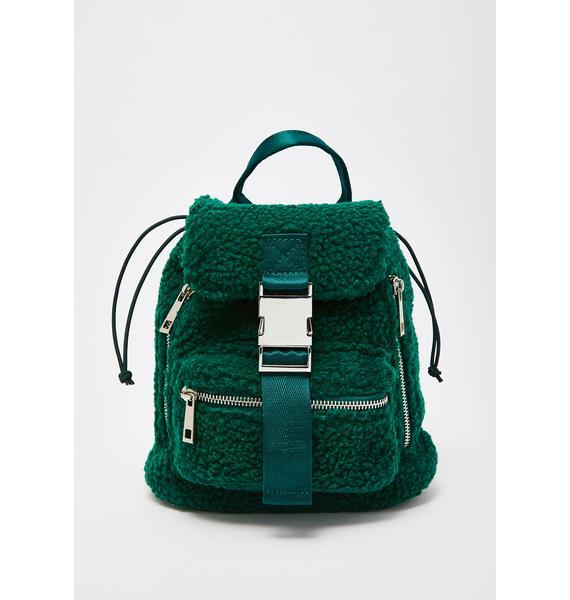 Poster Grl Trendin' Topic Sherpa Backpack