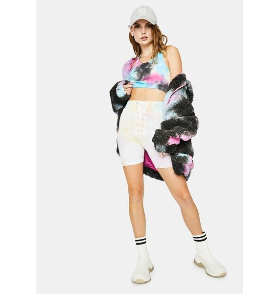 Kiki Riki Sunshine Splash Tie Dye Shorts