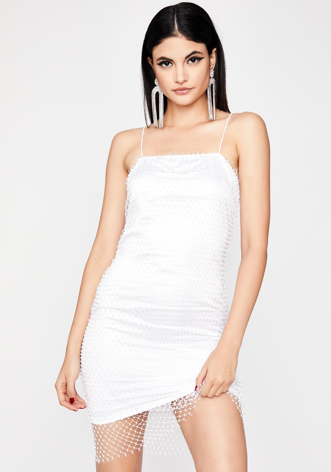 Icy Mega Glam Mini Dress