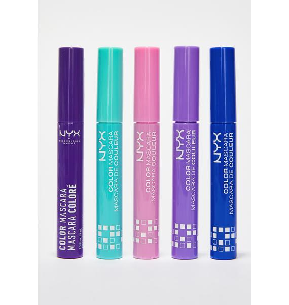 NYX  Purple Color Mascara