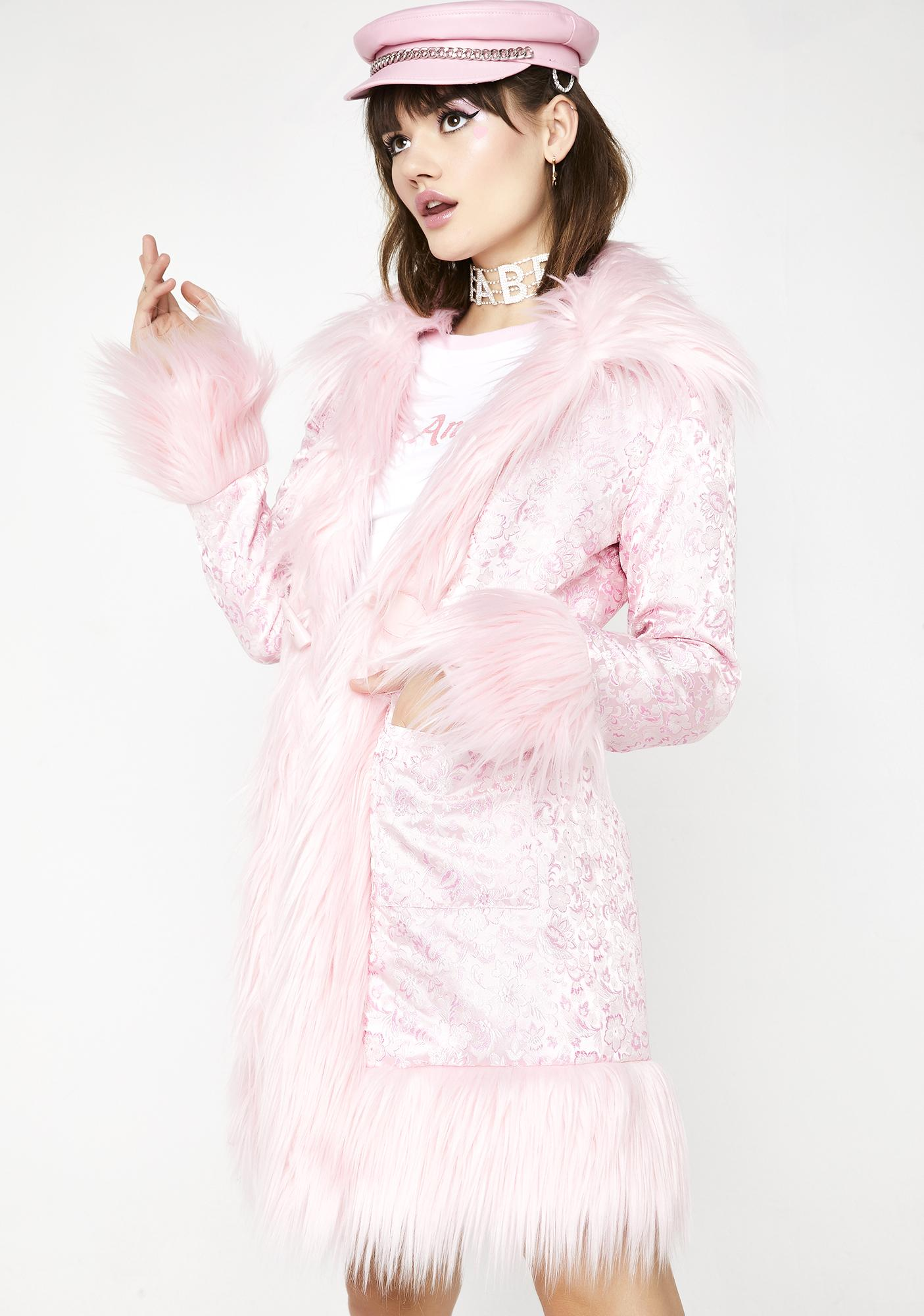 Sugar Thrillz Princess Posh Brocade Coat
