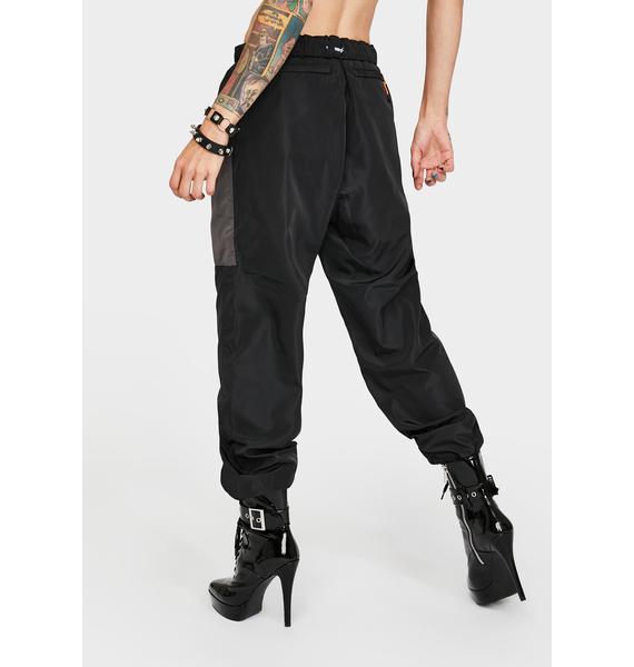 XLARGE Black Track Pants