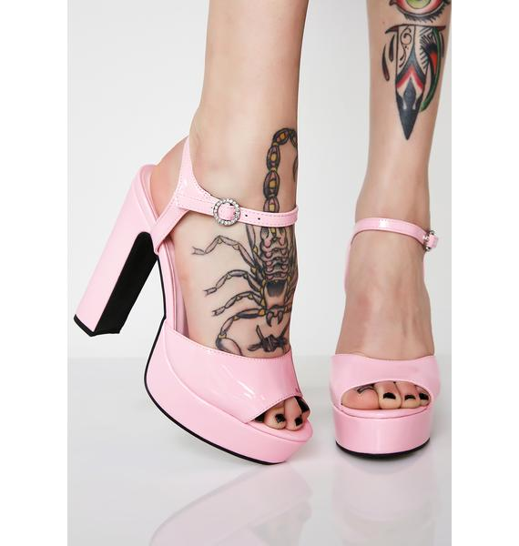 Sugar Thrillz Pretty Princess Platform Heels
