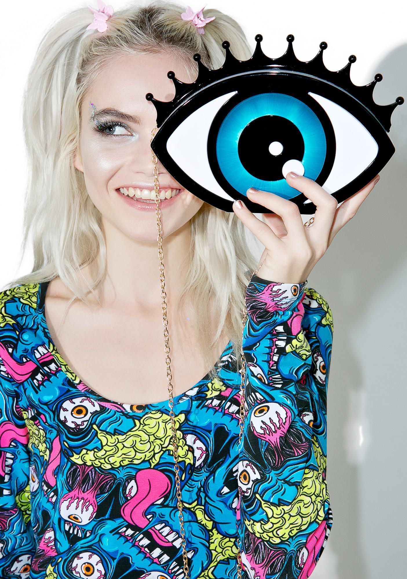 Nila Anthony Bright Eyez Clutch
