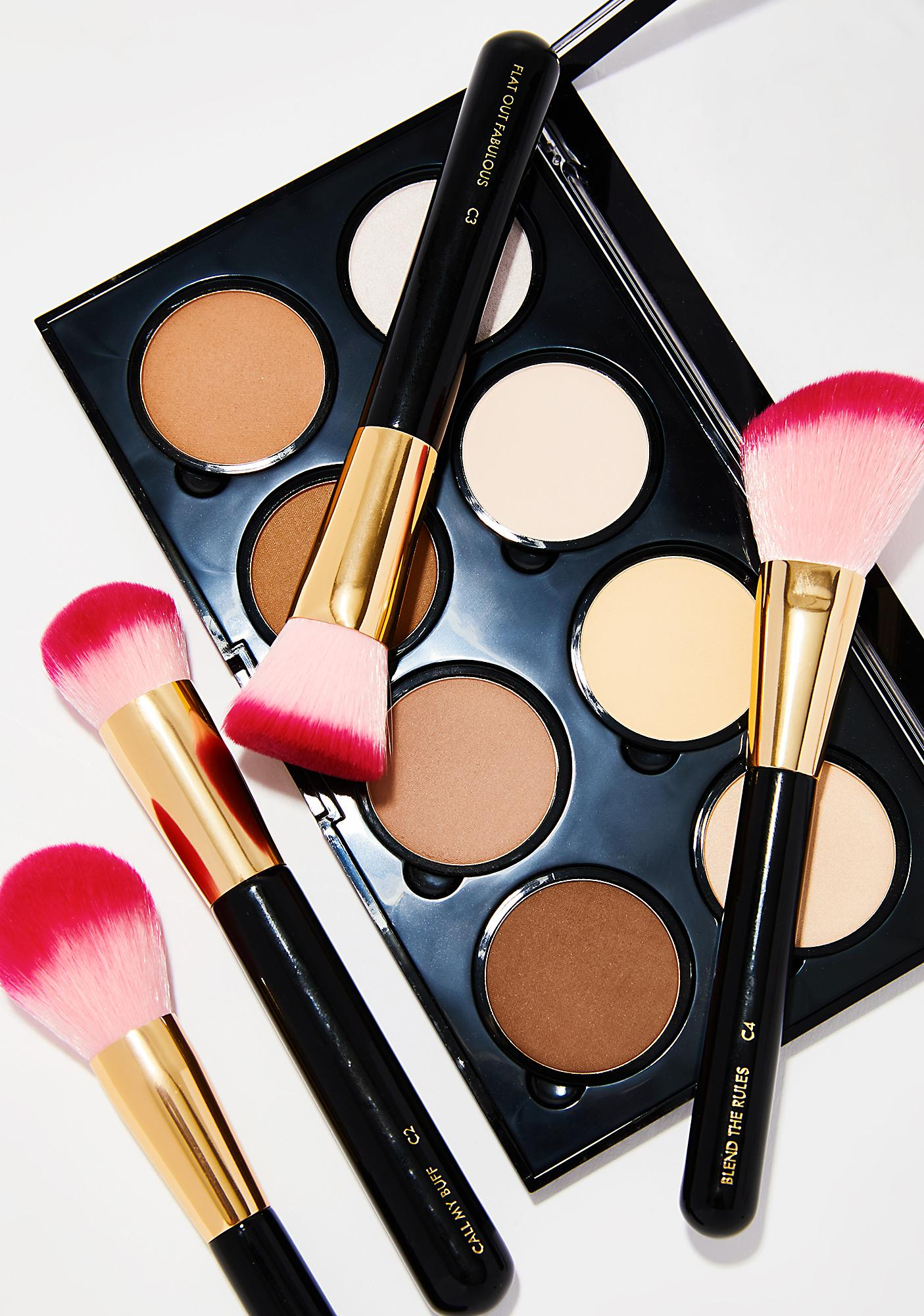 Skinnydip Luxe Shut The Contour Brush Set