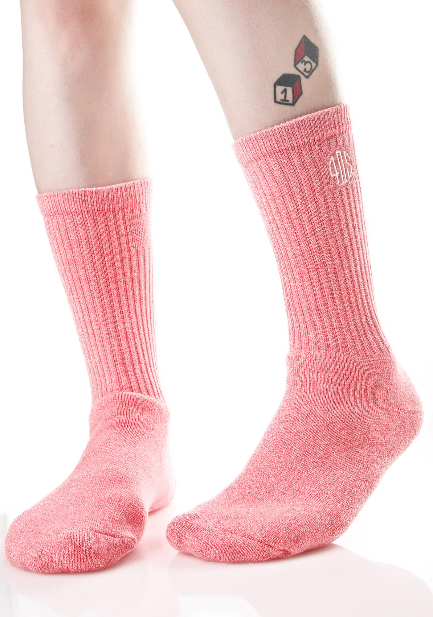 40s & Shorties 40s Speckle Crew Socks