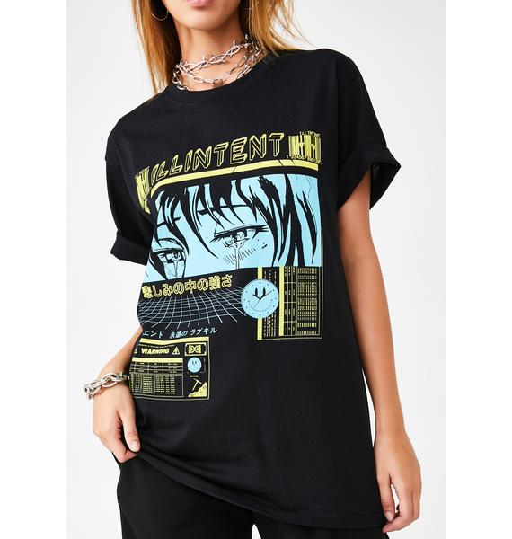 ILL INTENT Cry Now Graphic Tee