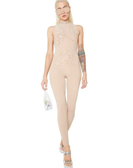 Hollywood Strip Sheer Catsuit