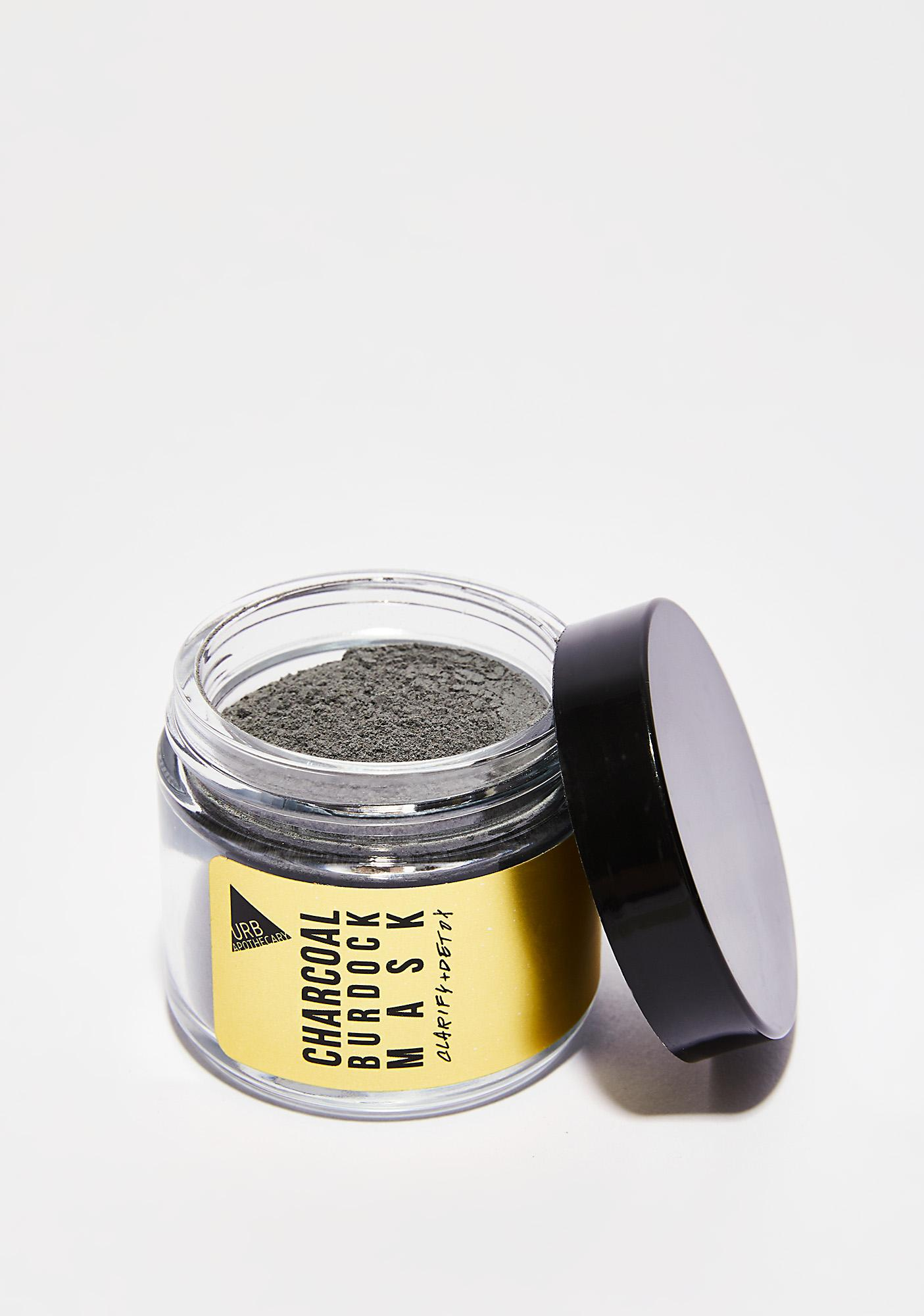 URB APOTHECARY Charcoal Burdock Mask