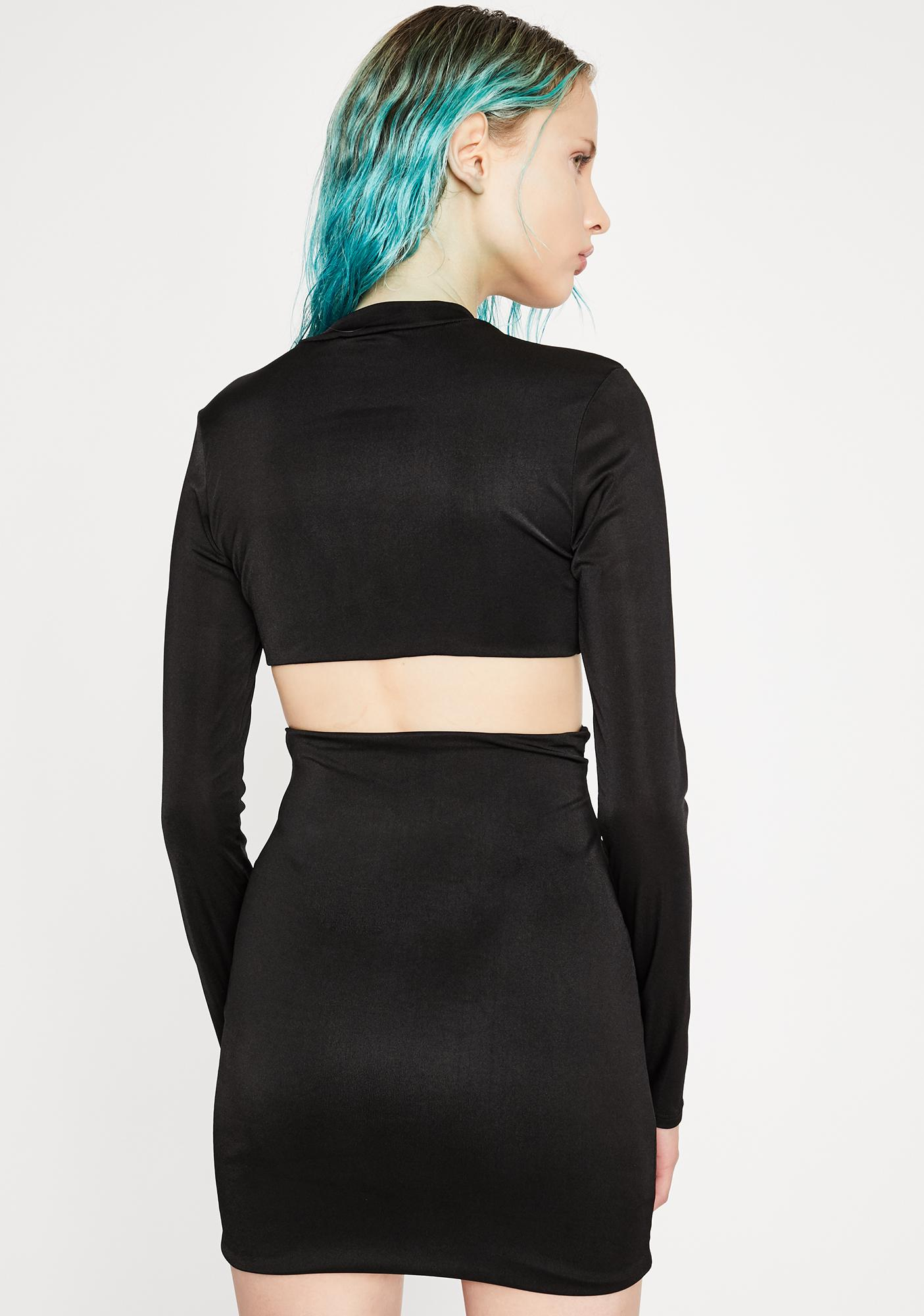 Sneak Peek Cut-Out Dress