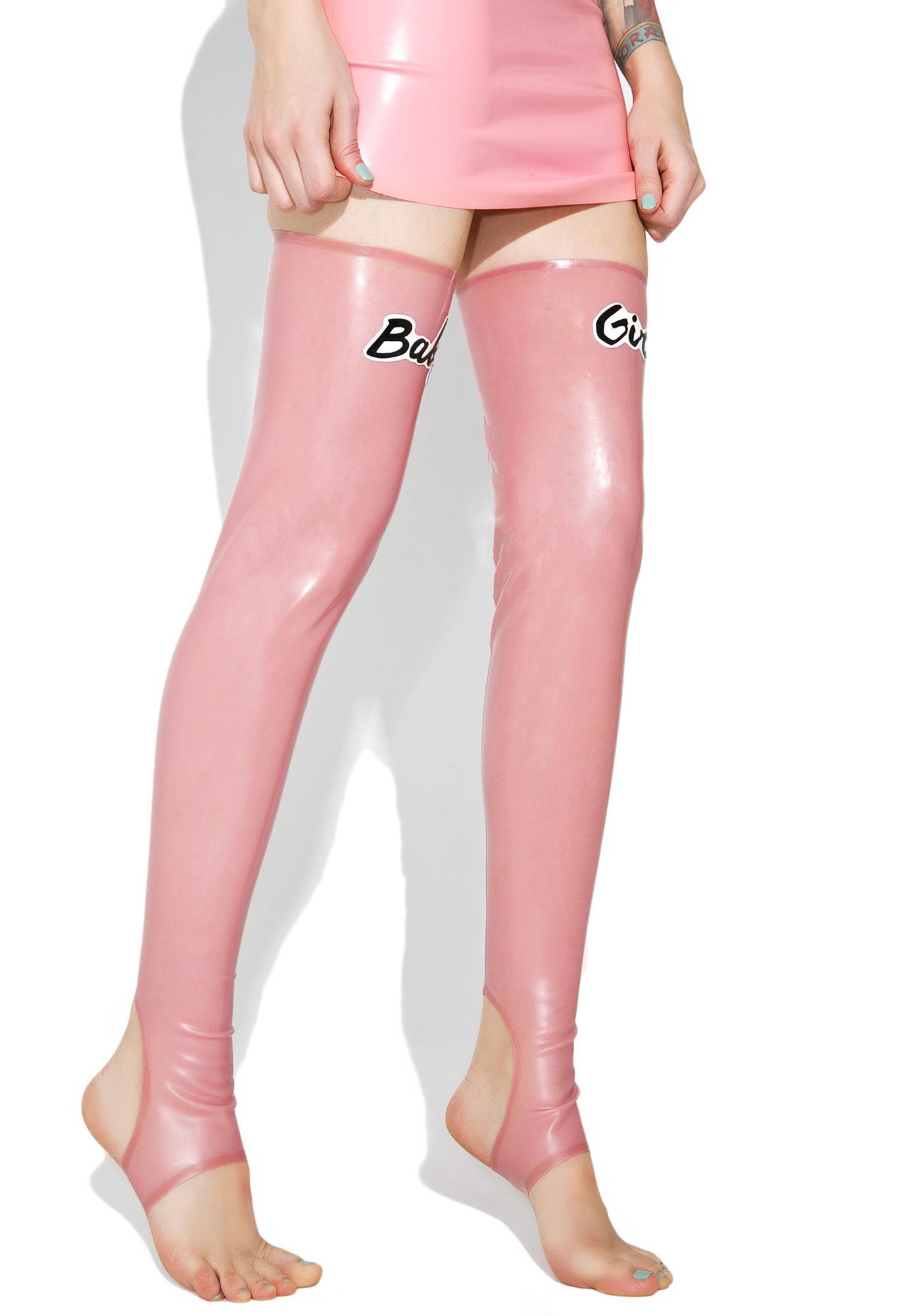 Meat Clothing Baby Girl Stirrup Socks