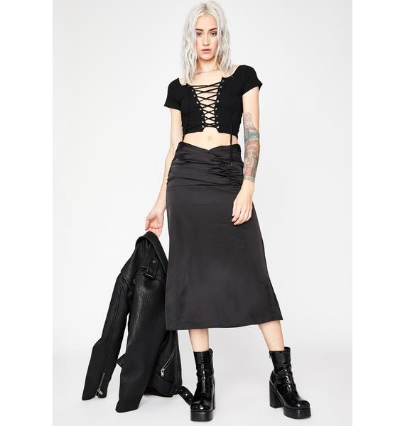 Set You Up Midi Skirt