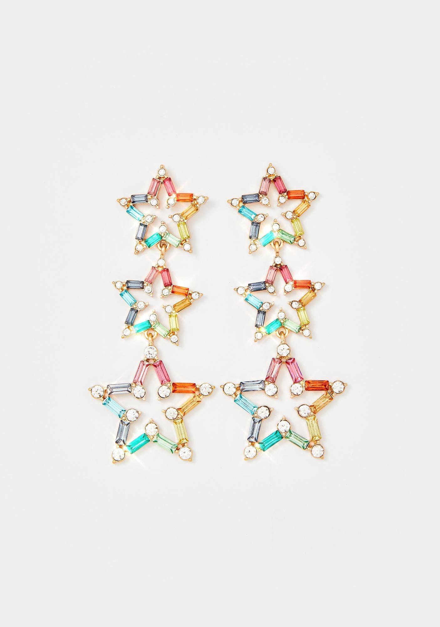 Debut Starlet Rhinestone Earrings