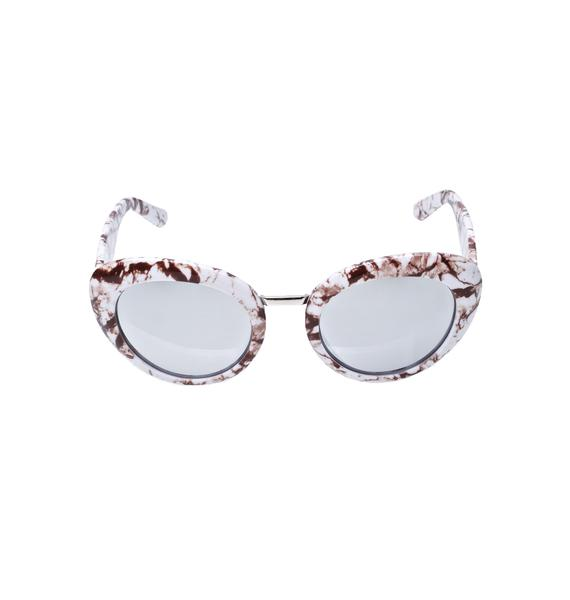 Marble Pamper Me Sunglasses