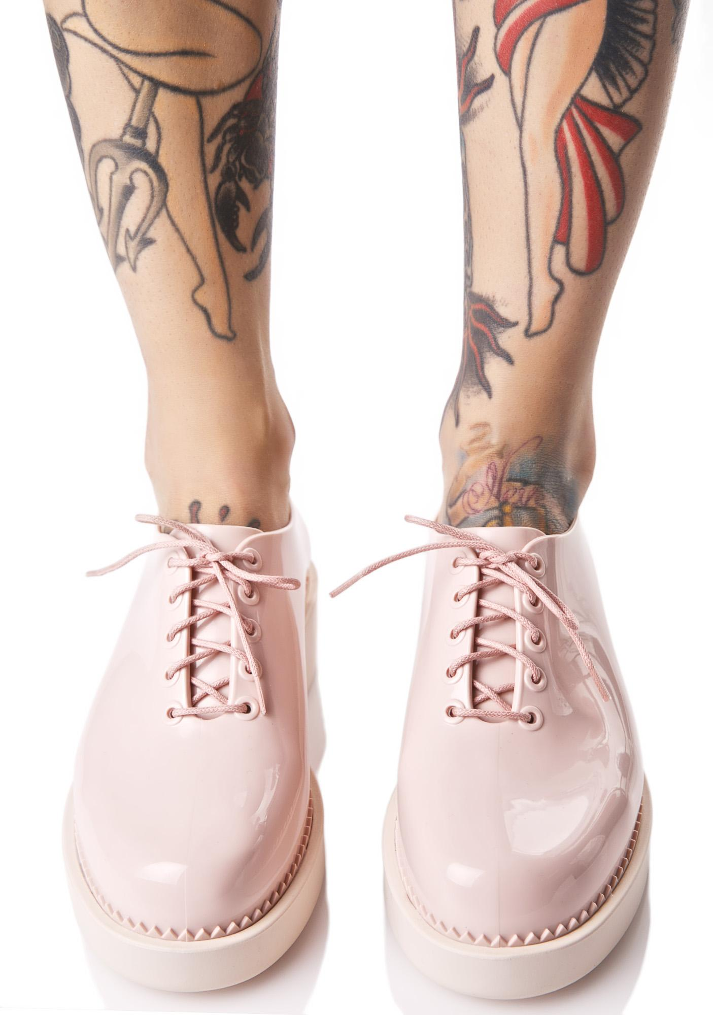 Melissa Sweetie Grunge Oxfords
