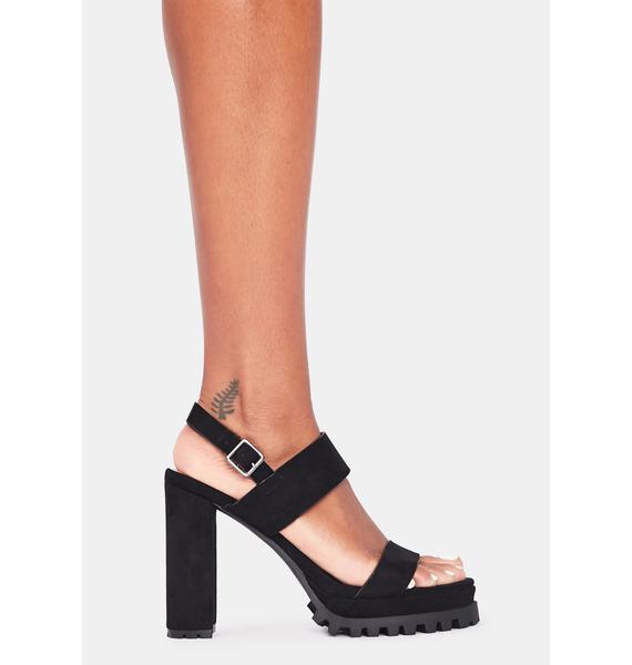 Just Because Block Heels
