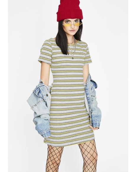Breaking Rulez Stripe Dress