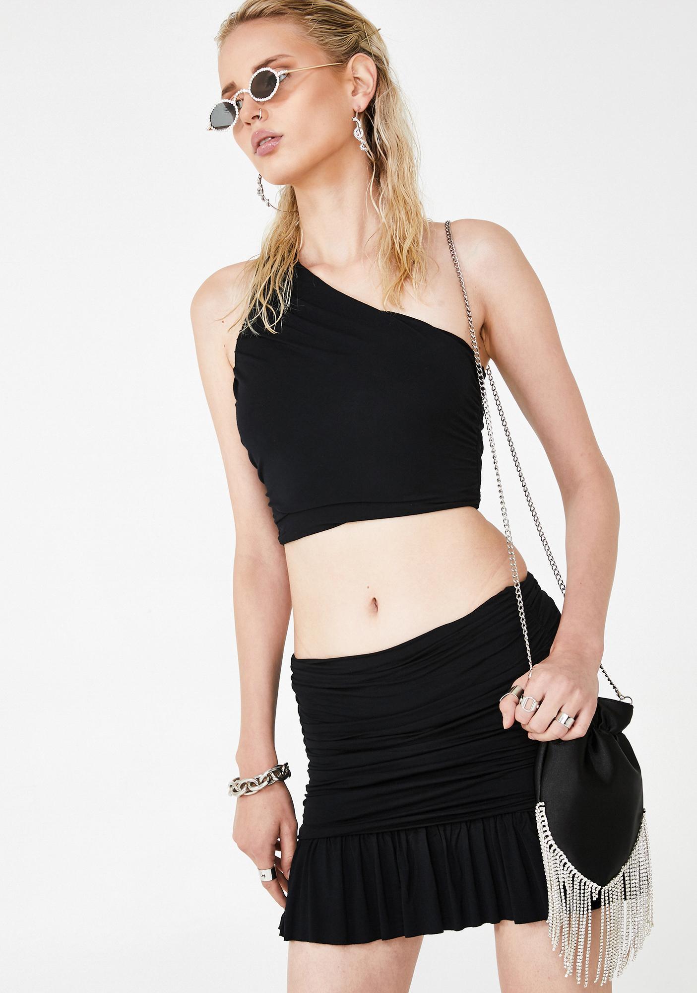 Kiki Riki Y2K Queen Skirt Set