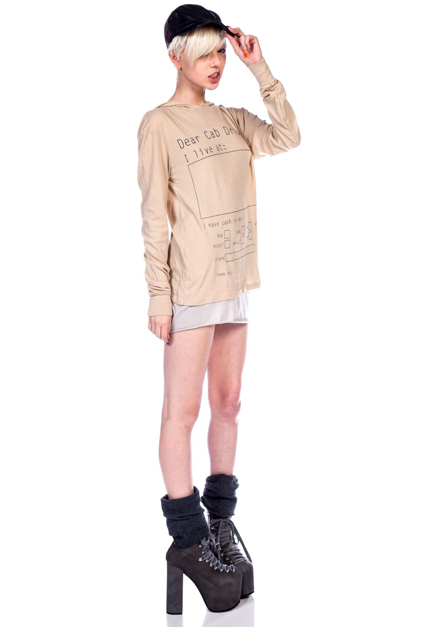 Wildfox Couture Take Me Home Long Sleeve Hoodie
