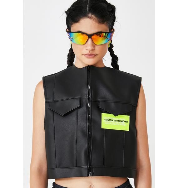 Constructed for Women Haute Combat Zip Up Vest